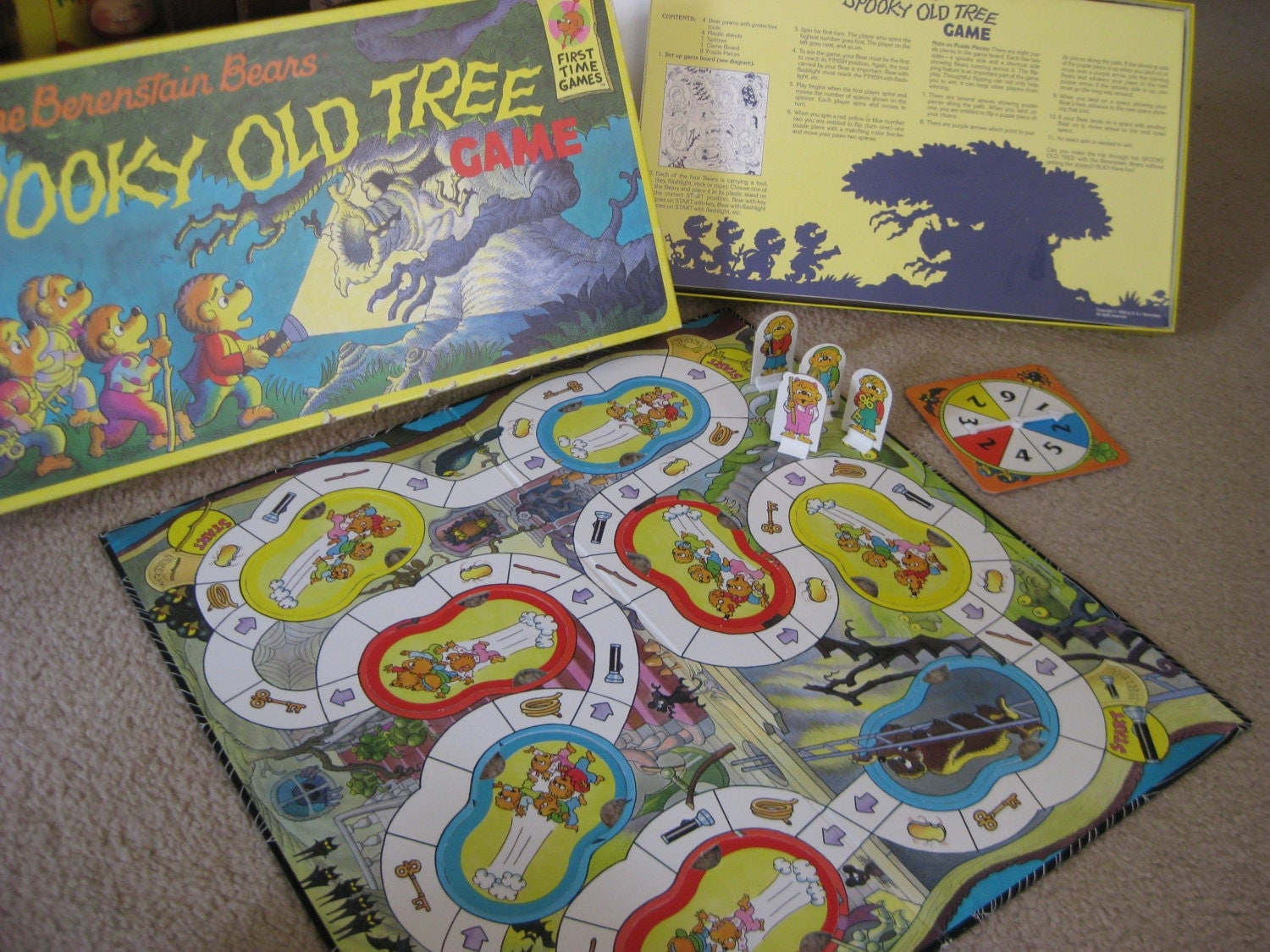 The Spooky Old Tree Game | Berenstain Bears Wiki | Fandom