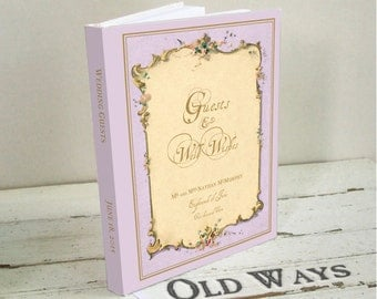 Popular Items For Wedding Wish Book On Etsy