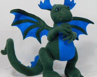 Dragon Green and Blue