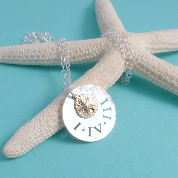 Original 143 Roman Numeral Sterling I Love You Necklace