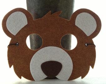 moose mask template