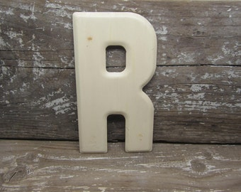 Metal Letter Sign Vintage Letter R Sign Small Size 5 1/2 Inch White Marquee Sign Letter Sign Wall Art Alphabet Letters Vintage Number Sign