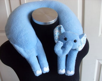 Daphne the Elephant Travel Neck Pillow