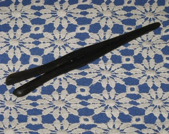Antique Ebony Glove Stretchers Vintage Collectible for Gloves
