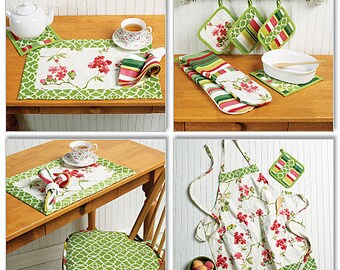 Popular items for kitchen patterns on Etsy