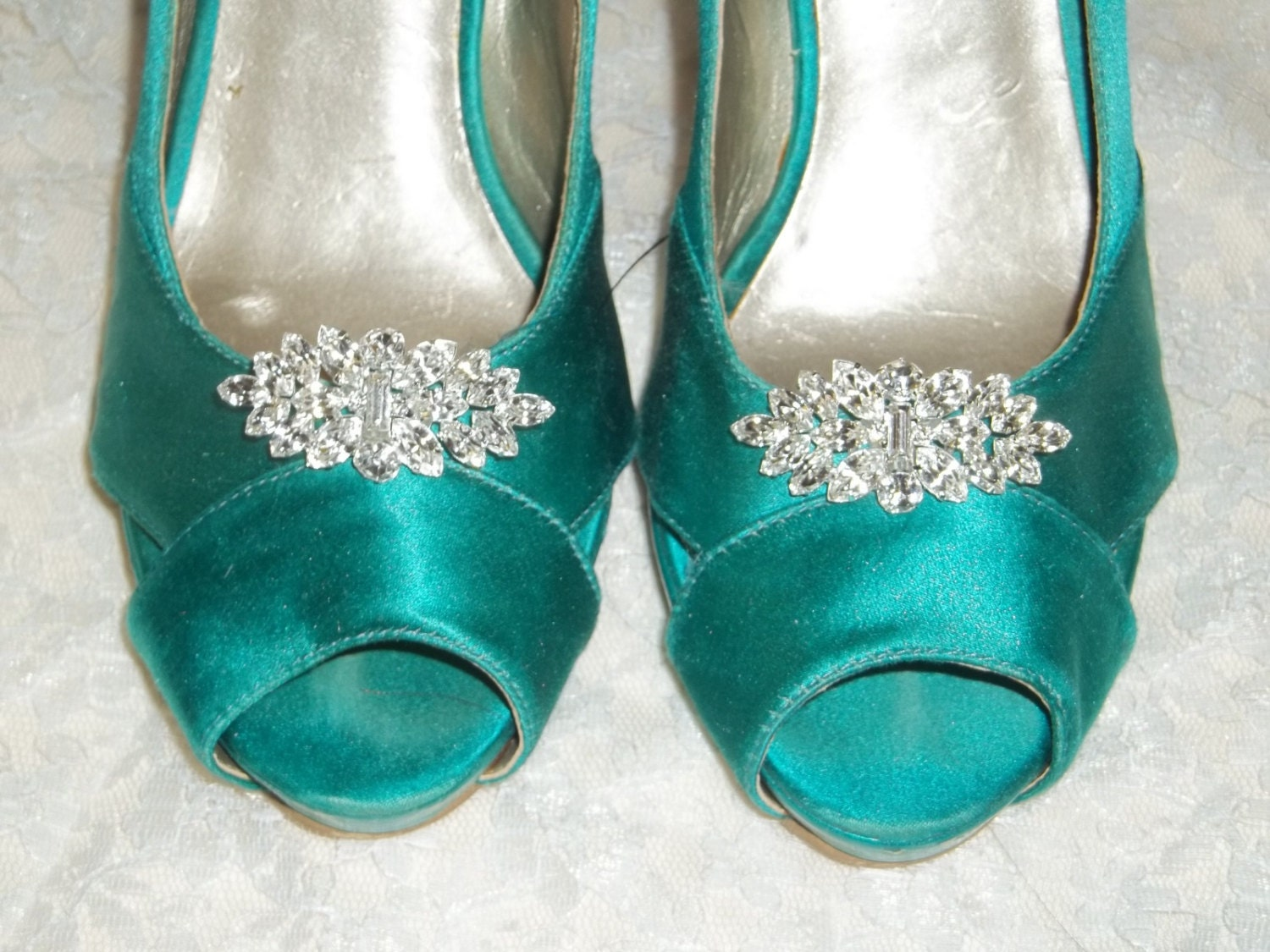 Wedding Heels With Rhinestones: Rhinestone Shoe Clips Bridal Shoe Clips Rhinestone Shoes