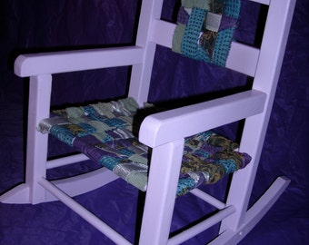 Hand made child's rocker - Sale 10% off