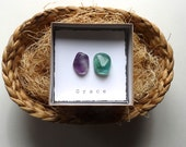 Unique Favor -- INTENTION STONE with gift box --- wedding, Small Gift, favor, candy free Easter Basket