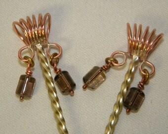 Steampunk hair sticks