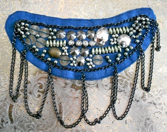 Beaded Chain Detail Appliques