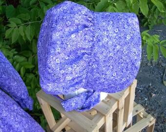Bonnet Purple Confetti Floral One Size