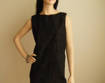 Vintage Little Black Dress - Size 12