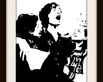 The Perks of Being a Wallflower Charlie Patrick  Sam Painting art print