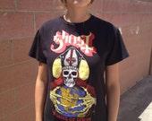 Ghost '13 Dates of Doom' Tour Shirt Size Medium