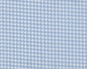 """EOB Clearance, 16"""" Fabric, Hounds Tooth, Light Blue Fabric, Blue Fabric, Blue Checker Fabric, 01905"""