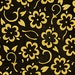 Floral Fabric, She Who Sews by Quilting Treasures, Sewing Fabric, Fashion Fabric, Yellow Floral Fabric, 1 yard fabric, 02261