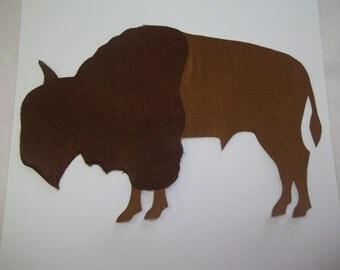 Large buffalo, native american