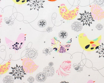 Alexander Henry Fabric - Starling - Multi- Novelty Fabric - Choose Your Cut 1/2 or Full Yard