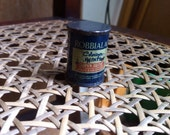 Vintage pencil sharpener in shape of paint tin advertising Robbialac