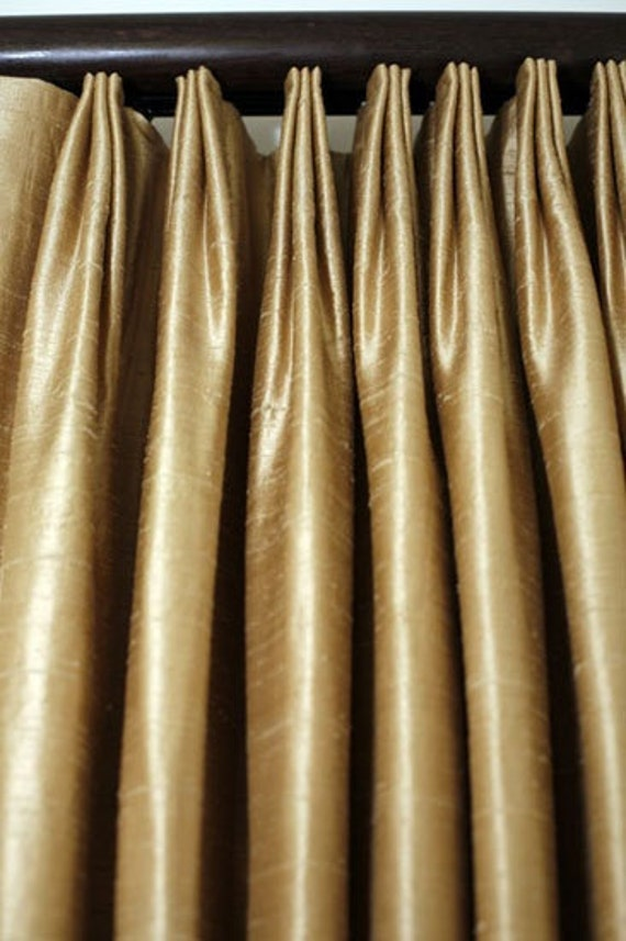 Items Similar To Custom Euro Pleated Drapes Made W