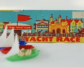 Toy Town Yacht Club - 1950's Plastic Miniature Boats, Mid Century Kid Toy  Made In Hong Kong, Mid Century, Gift For Birthday Party Gift Bags
