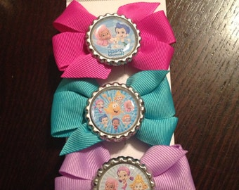 Custom listing: for pedestals - Single Bubble Guppies  Bow bow