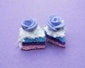 Earrings Kawaii Rainbow Cake