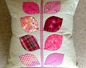 PDF Pattern: Applique Quilted Cushions (Level - Beginner)