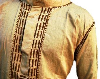 Christmas in july gifts for him Long sleeved tunic top kurta for mens shirt beach wedding loungewear cotton summer caftan dress