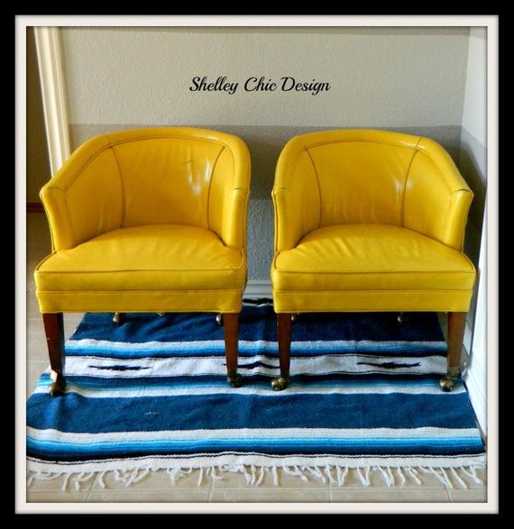 Yellow Club Chair Design Ideas Arenskjold Antiques Pair