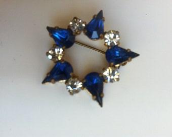 jewelry, HOLLYWOOD REGENCY brooch