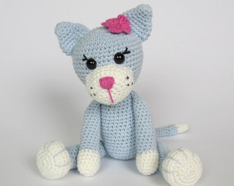 Kitty Ela - Amigurumi Crochet Pattern / PDF e-Book / Stuffed Animal Tutorial