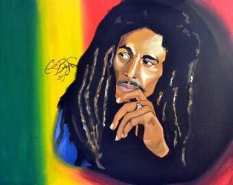 Bob Marley original painting