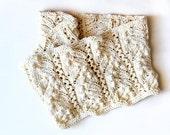 knitting pattern PDF Linden infinity scarf cowl