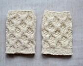 wristlets cuffs TRIGONOMETRIC knitting pattern PDF