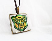 Autobots authentic Transformers comic book necklace