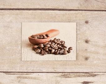 coffee bean refrigerator magnet, still life photography, home decor, coffee, photo magnet, photography, magnets
