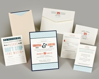 Wedding Invitations - Christina Collection