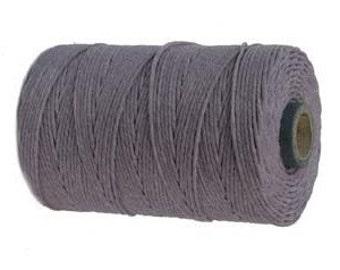10 Yards -  Lavender - Irish Waxed Linen - 4 ply
