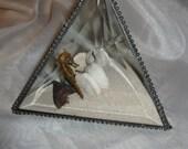 Beveled Glass Beach Pyramid - Item 7-1011