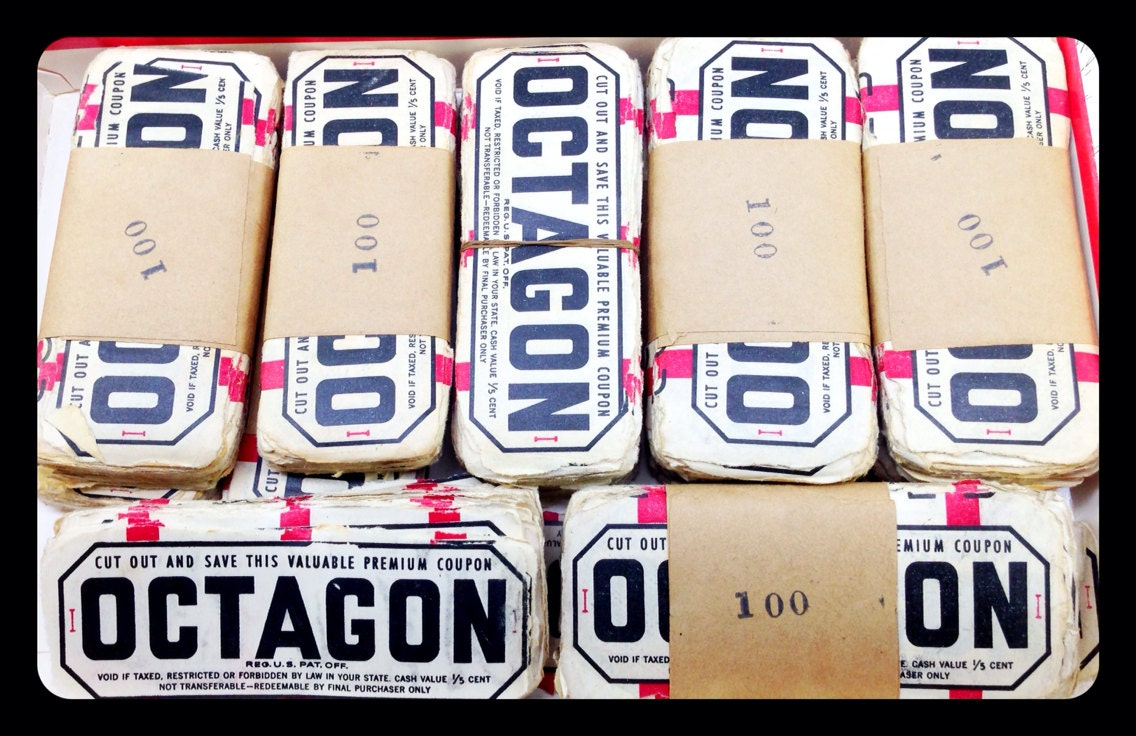 Octagon soap coupons