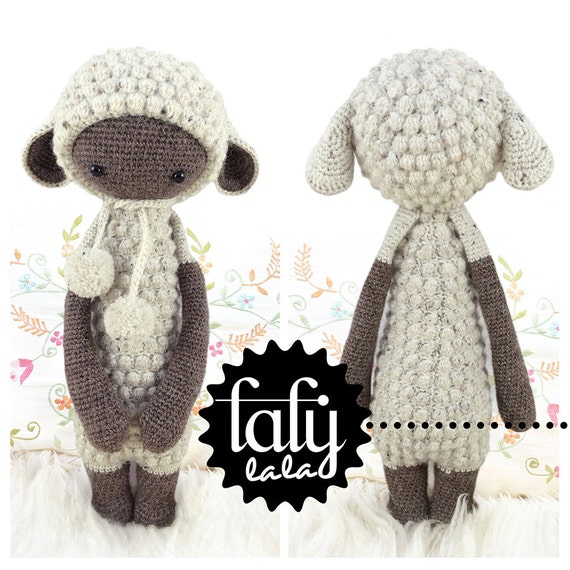 LUPO the lamb / sheep - lalylala amigurumi crochet PATTERN - ebook