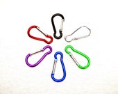 Clip On Carabiner snap clip attachment for fur tails and other craft