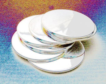 Sterling Silver Discs 12mm 20 Gauge 40 Pieces