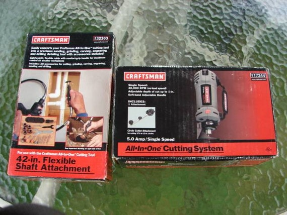 craftsman flex shaft attachment new in box craftsman all in one cutting tool by