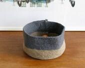 Contemporary Crochet Bowl