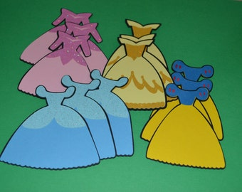 Princess Die Cuts (12) 3""