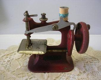 Antique Stitch Mistress Child's Sewing Machine