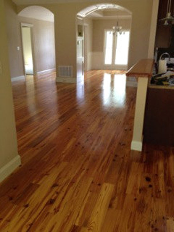 Reclaimed Heart Pine Flooring from CarolinaMoulding