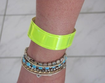 Arm Wrist reflector great for sport walking cycling running dark nights 2 pcs.